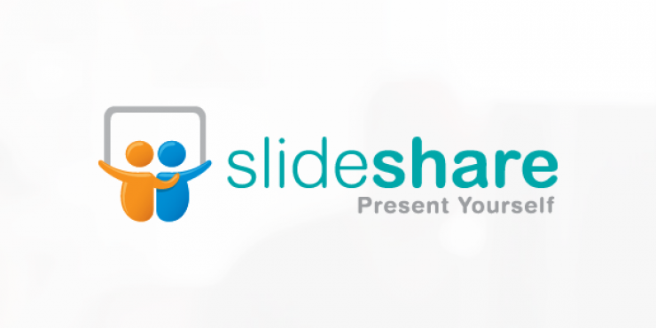 Koppel je website met SlideShare
